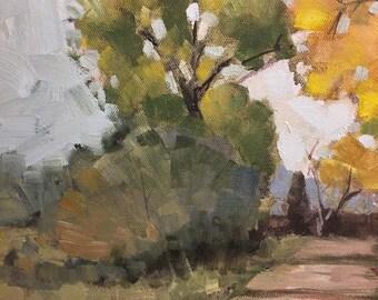 Cliff Austin Original Plein Air Painting
