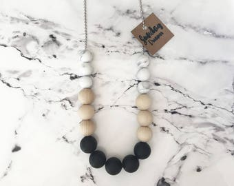 """SALE! Black Silicone necklace. """"WAS 25 NOW 18"""""""