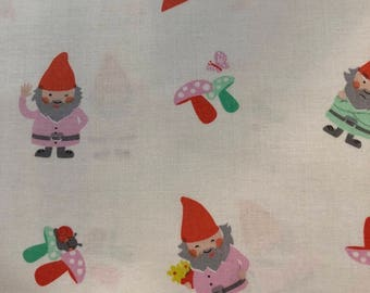 Hank and Clementine Gnomes by Susan Emory of Swirly Girl Designs for Michael Miller Fabric