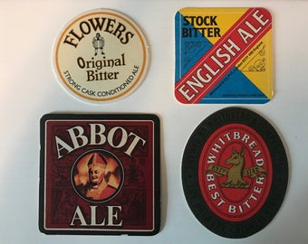 British Beer Coasters