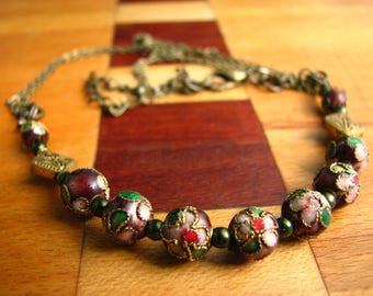 3749 -Necklace, Chinese Pearls