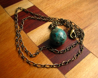 3752 - Pendant, Real Turquoise