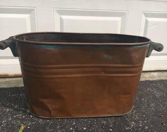 Antique Wash Tub Etsy