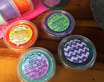 Signature Blend Wax Melt Sampler Complex  Scents  -  Multi Pack Christmas Tarts Wax Sample Melts Wax Melters