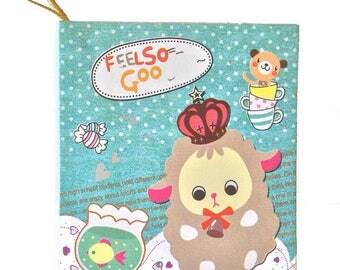 Illustrated cardstock gift card