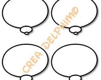 Stiker BULLEX4 conversation bubble sticker