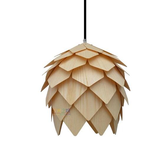 Pendant Light//Pine Cone Pendant LightAmerican Ash