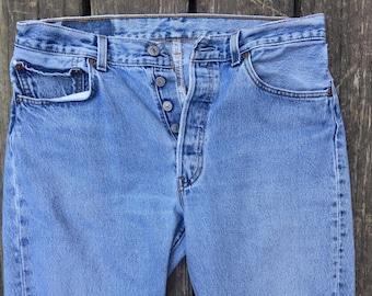 Vintage 501 Levi's, Boyfriend Jeans, sose 33x32