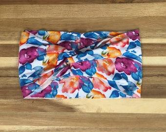 Summer Floral Turban