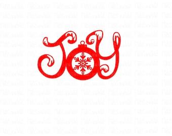 Joy Christmas word svg/png/dxf cricut/silhouette cutting file/Joy svg/Christmas joy/decoration/bauble/ornament/Christmas svg/snow svg/HTV