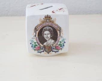 Vintage Royal Memorabilia Coin Holder Queen's Coronation