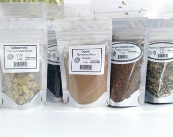 Organic Eucalyptus Leaf Herb C/S 1 oz Fresh and Pure High Quality!
