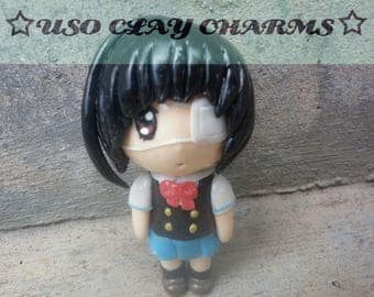 Chibi Misaki Mei charm, Another, clay figure