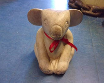 Wooden carved Koala bear