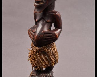 Songye  ancestor statuette from the Congo