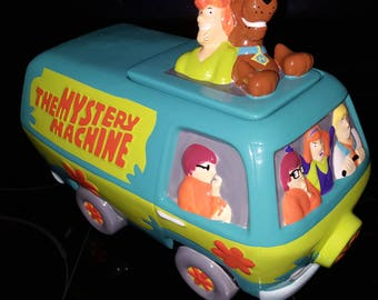 Scooby Doo And the Mystery Machine Cookie Jar