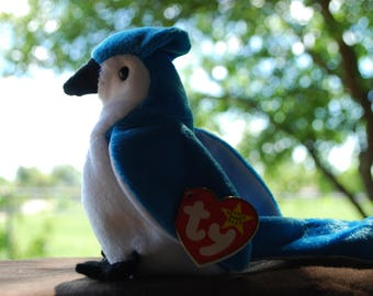 Beanie Baby Original- Rocket the Bluebird