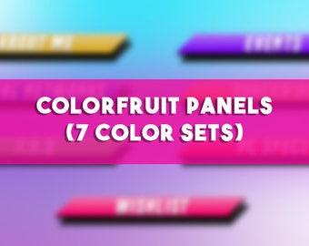 Colorfruit Panels Pack