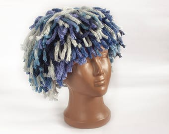Halloween wig, Wig, Jokes hats, Adults and children hats, party cap, carnival costumes, halloween, cap hair, reusable wig