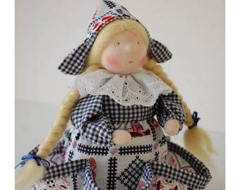 Waldorf doll, waldorf style tea lady