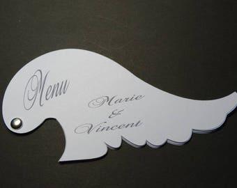 Petite angel wing - theme white angel wing