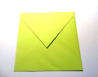 110 x 120 pollen color square envelope