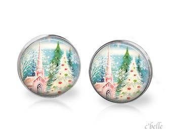 Earrings Happy Christmas-6