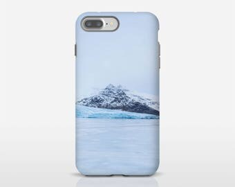 Winter phone case, Iceland photo, Phone accessory, iPhone 8, Gift for men, Galaxy S9 Case, iPhone X, Google Pixel, Phone Covers. SV002