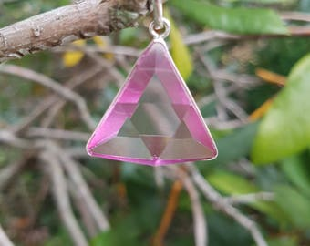 Rose Aura Vogel - Star of David Pendant - set in Sterling Silver - A Grade !  Powerful