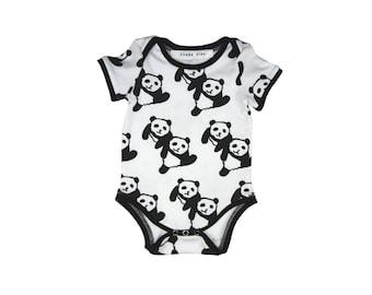 PANDA FRIENDS Bodysuit