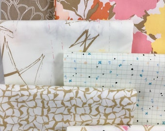 Fat Quarter Bundle - Gossamer, 6 Pieces, by Sharon Holland for Art Gallery Fabric