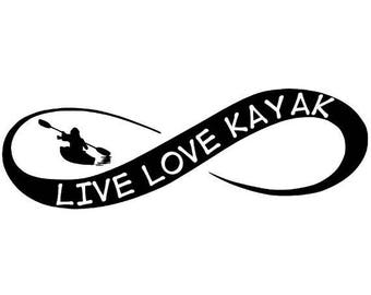 Kayak Decal Etsy