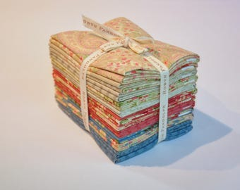 Fabric destash  Faded Splendor by Robyn Pandolph for RJR  fabrics 100% Cotton Quilting collection of  12 Fat Quarters