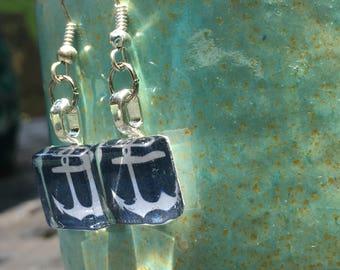 Anchor earrings!