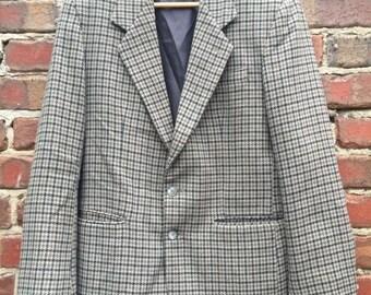 ON SALE Men's Vintage Harris Tweed Jacket Size 40
