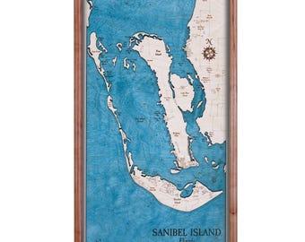 Sanibel Island, Florida  Serving Tray