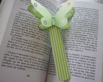 Green Butterfly bookmarks.