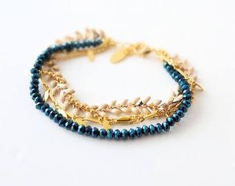 Bracelet multi strands