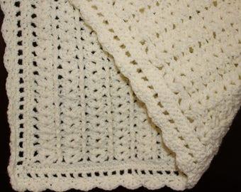 Shell Pattern Baby Blanket