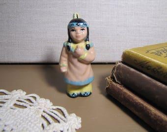 Ceramic Arts - Indian Squaw Figurine - Salt Shaker