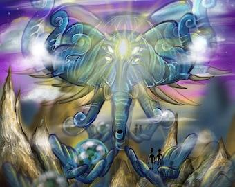 Transcendental Journey - Original Artwork Print