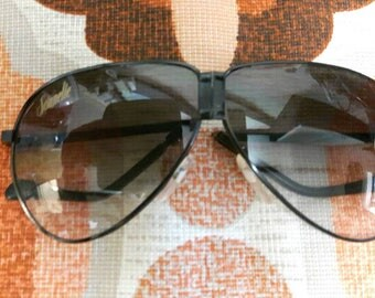 Vintage aviator sonnelle folding sunglasses with case so cool