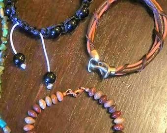 Three Men's Bracelets