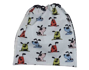 Lirge for dogs pattern canteen or home