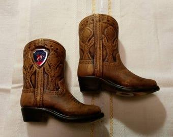 Wyoming Cowboy Boots Vintage Salt & Pepper Set