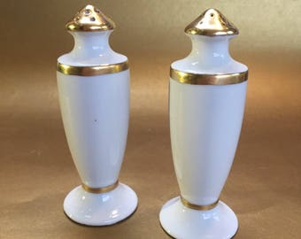 Salt and Pepper Shakers Limoges Haviland France Japan China