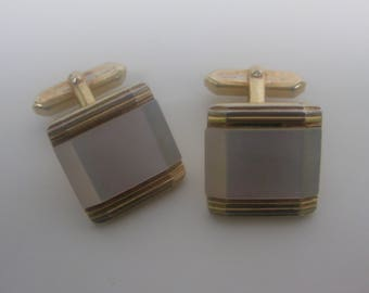 noble cufflinks with mother of Pearl