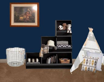 Customized Interior Design- home organizing solutions for a full room