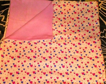 Hearts Baby Blanket