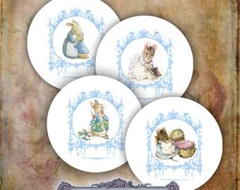 8 Beatrix Potter Circles